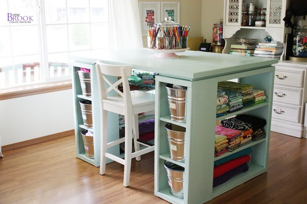 Sewing Table Blueprint