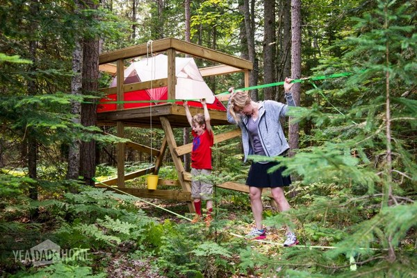 How We Built Our Treehouse