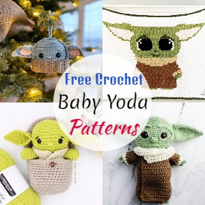 Baby Yoda Crochet patterns
